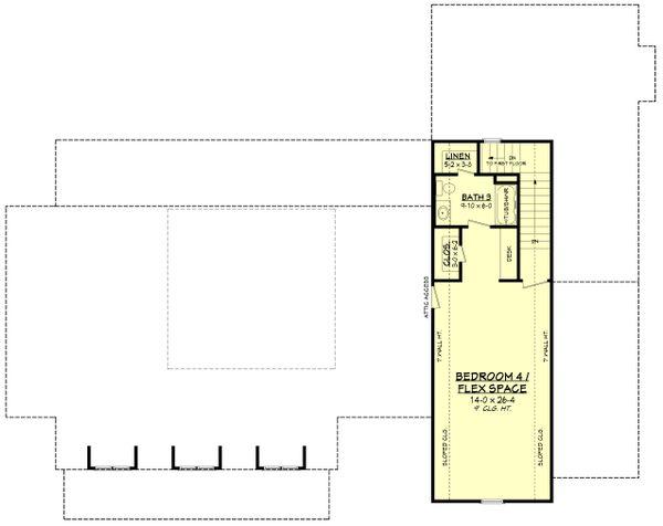 Dream House Plan - Farmhouse Floor Plan - Upper Floor Plan #430-251
