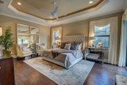Mediterranean Style House Plan - 4 Beds 4 Baths 3012 Sq/Ft Plan #27-445 Interior - Master Bedroom