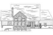 Country Style House Plan - 5 Beds 4 Baths 2260 Sq/Ft Plan #5-367 Exterior - Rear Elevation