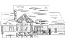 Home Plan - Country Exterior - Rear Elevation Plan #5-367
