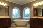 European Style House Plan - 3 Beds 2 Baths 2839 Sq/Ft Plan #437-63 Interior - Master Bathroom