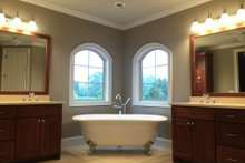 Dream House Plan - European Interior - Master Bathroom Plan #437-63
