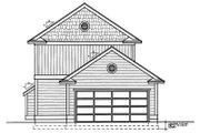 Farmhouse Style House Plan - 3 Beds 3 Baths 1584 Sq/Ft Plan #95-220 Exterior - Rear Elevation