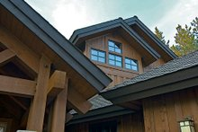 Dream House Plan - Craftsman style home, elevation photo
