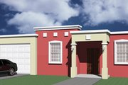 House Plan - 3 Beds 2 Baths 1404 Sq/Ft Plan #495-2 Exterior - Other Elevation
