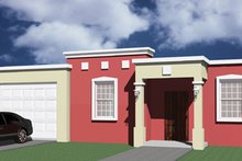 Dream House Plan - Exterior - Other Elevation Plan #495-2