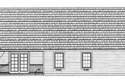 Traditional Style House Plan - 2 Beds 2 Baths 1118 Sq/Ft Plan #72-102
