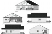 Farmhouse Style House Plan - 2 Beds 3 Baths 1540 Sq/Ft Plan #1077-5 Exterior - Other Elevation