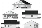 Farmhouse Style House Plan - 2 Beds 3 Baths 1540 Sq/Ft Plan #1077-5