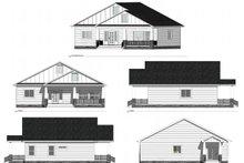 Farmhouse Exterior - Other Elevation Plan #1077-5