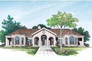 Mediterranean Style House Plan - 4 Beds 3 Baths 2831 Sq/Ft Plan #72-161