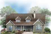 Country Style House Plan - 3 Beds 2 Baths 1911 Sq/Ft Plan #929-674 Exterior - Rear Elevation