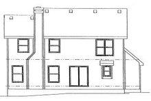 Traditional Exterior - Rear Elevation Plan #20-580
