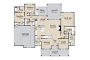 Farmhouse Style House Plan - 3 Beds 2.5 Baths 2270 Sq/Ft Plan #120-256 Floor Plan - Main Floor Plan