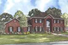 House Design - Colonial Exterior - Front Elevation Plan #17-2090