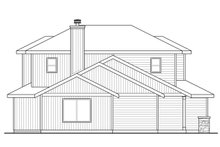 Architectural House Design - Traditional Exterior - Other Elevation Plan #124-1041