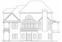 Traditional Exterior - Rear Elevation Plan #419-171