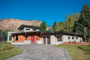 Contemporary Exterior - Front Elevation Plan #451-24