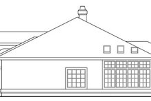 Mediterranean Exterior - Other Elevation Plan #124-412