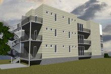 House Design - Contemporary Exterior - Other Elevation Plan #535-19