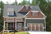 Craftsman Style House Plan - 4 Beds 3 Baths 2533 Sq/Ft Plan #419-203 Photo
