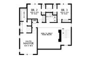 Contemporary Style House Plan - 4 Beds 3.5 Baths 2874 Sq/Ft Plan #48-1019 Floor Plan - Upper Floor