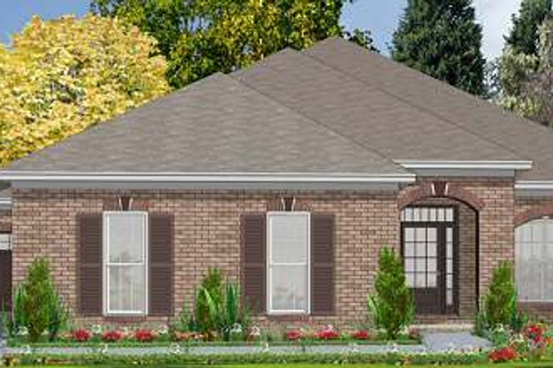 Traditional Style House Plan - 3 Beds 2 Baths 2025 Sq/Ft Plan #63-143