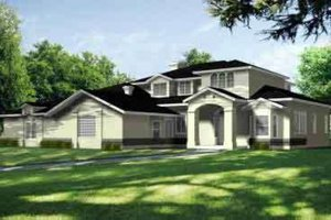 Traditional Exterior - Front Elevation Plan #1-848