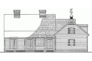 Country Style House Plan - 3 Beds 3 Baths 2500 Sq/Ft Plan #137-125 Exterior - Rear Elevation