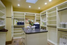 Home Plan - Master Bedroom Closet - 4000 square foot European home