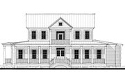 Southern Style House Plan - 3 Beds 2.5 Baths 2533 Sq/Ft Plan #464-10 Exterior - Front Elevation