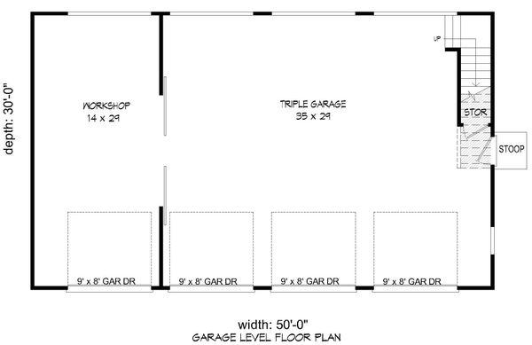 Country Floor Plan - Main Floor Plan Plan #932-266