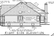 Traditional Style House Plan - 2 Beds 2 Baths 1996 Sq/Ft Plan #20-2419 Exterior - Other Elevation