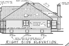 Dream House Plan - Traditional Exterior - Other Elevation Plan #20-2419