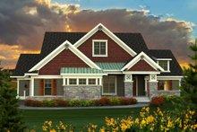 Farmhouse Exterior - Front Elevation Plan #70-1172
