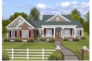 Traditional Style House Plan - 3 Beds 3 Baths 2140 Sq/Ft Plan #56-639