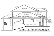 Modern Style House Plan - 4 Beds 3.5 Baths 2503 Sq/Ft Plan #20-2268 Exterior - Other Elevation