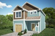 Traditional Style House Plan - 3 Beds 2.5 Baths 1445 Sq/Ft Plan #116-305 Exterior - Front Elevation