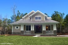 Home Plan - Bungalow Exterior - Front Elevation Plan #929-38