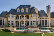 House Plan Design - European Exterior - Rear Elevation Plan #119-169