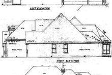 House Design - European Exterior - Rear Elevation Plan #52-122