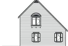 Cottage Exterior - Rear Elevation Plan #23-493