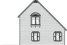 Home Plan - Cottage Exterior - Rear Elevation Plan #23-493