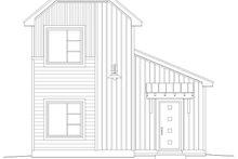 House Plan Design - Contemporary Exterior - Rear Elevation Plan #932-7