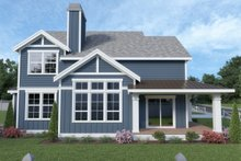Contemporary Exterior - Other Elevation Plan #1070-83