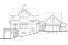 Home Plan - Traditional Exterior - Other Elevation Plan #928-11