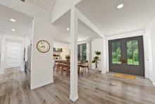 Farmhouse Interior - Entry Plan #48-984