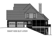 Traditional Style House Plan - 4 Beds 4 Baths 2470 Sq/Ft Plan #56-540 Exterior - Other Elevation