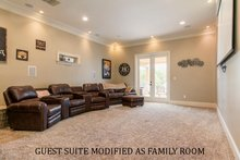 Modified Guest Suite As Family Room