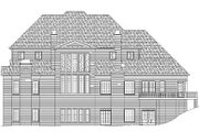 Classical Style House Plan - 4 Beds 3.5 Baths 5083 Sq/Ft Plan #119-246 Exterior - Rear Elevation